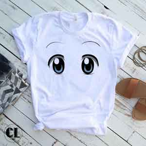 T-Shirt Anime Eyes