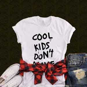 T-Shirt Cool Kids Don't Dance
