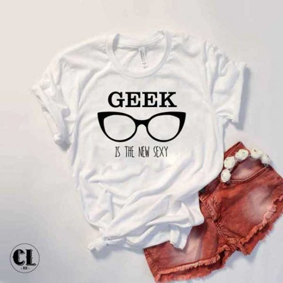 T-Shirt Geek Is The New Sexy