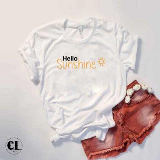T-Shirt Hello Sunshine