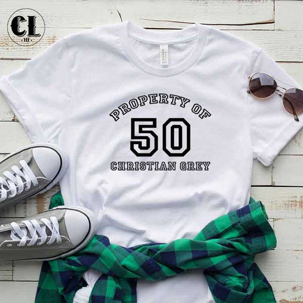 T-Shirt Property Of 50 Christian Grey