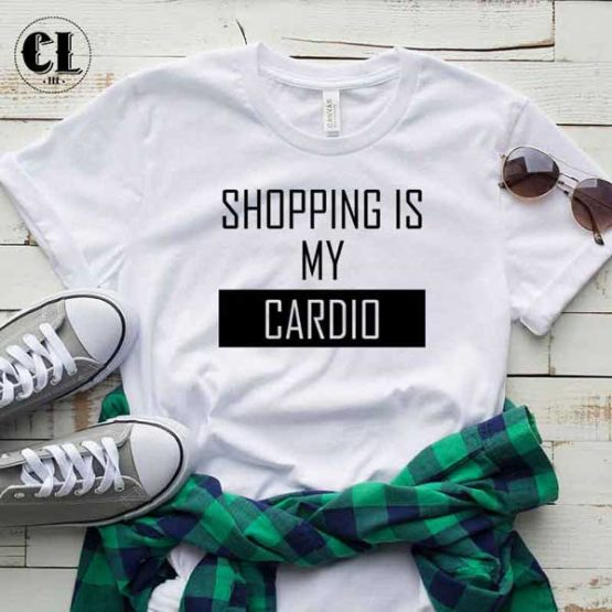 T-Shirt Shopping is My Cardio