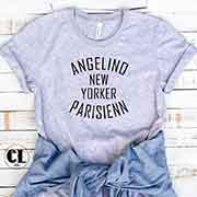 T-Shirt Angelino New Yorker Parisienn