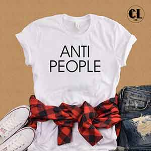 T-Shirt Anti People
