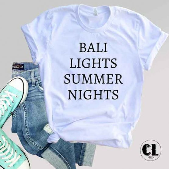 T-Shirt Bali Lights Summer Nights