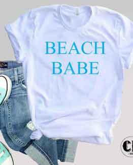 T-Shirt Beach Babe