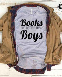 T-Shirt Books Are Better Than Boys