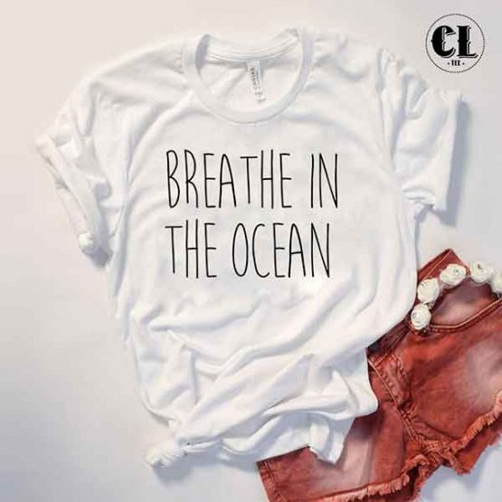 T-Shirt Breathe In The Ocean