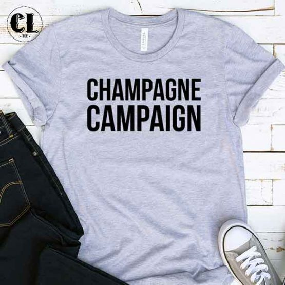 T-Shirt Champagne Campaign