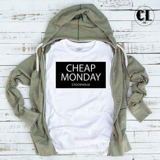 T-Shirt Cheap Monday Stockholm