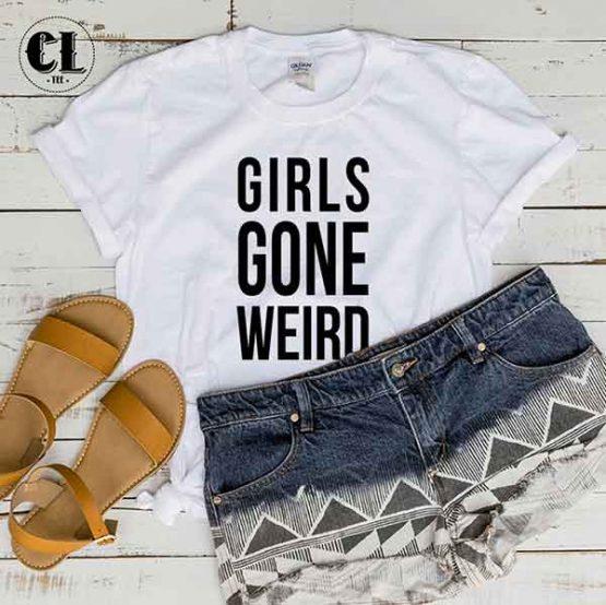 T-Shirt Girls Gone Weird