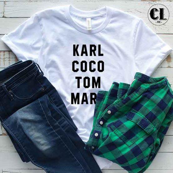 T-Shirt Karl Coco Tom Marc