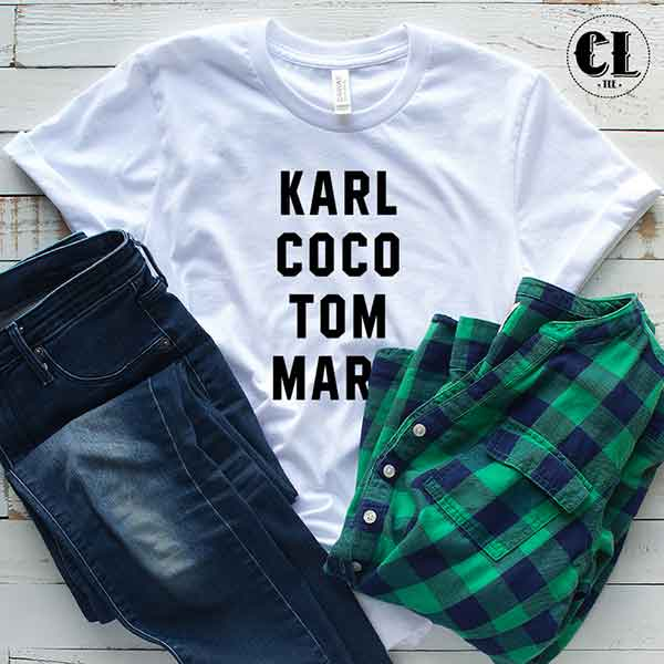 T-Shirt Karl Coco Tom Marc