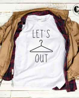 T-Shirt Let's Hanging Out