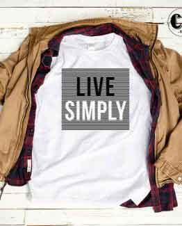 T-Shirt Live Simply