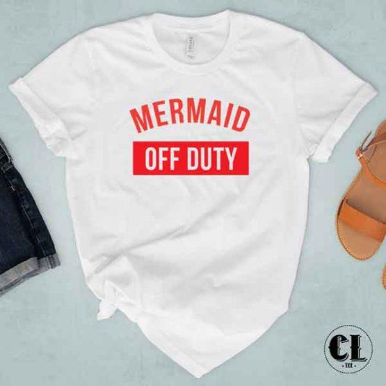 T-Shirt Mermaid Off Duty
