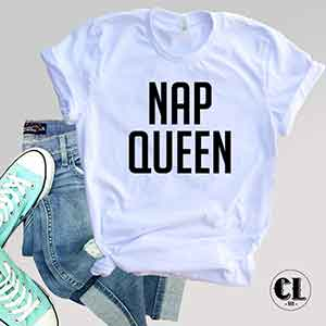 T-Shirt Nap Queen