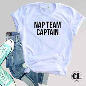 T-Shirt Nap Team Captain