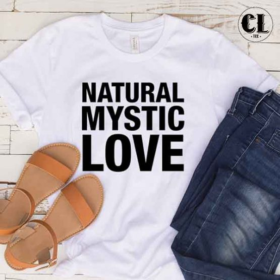 T-Shirt Natural Mystic Love