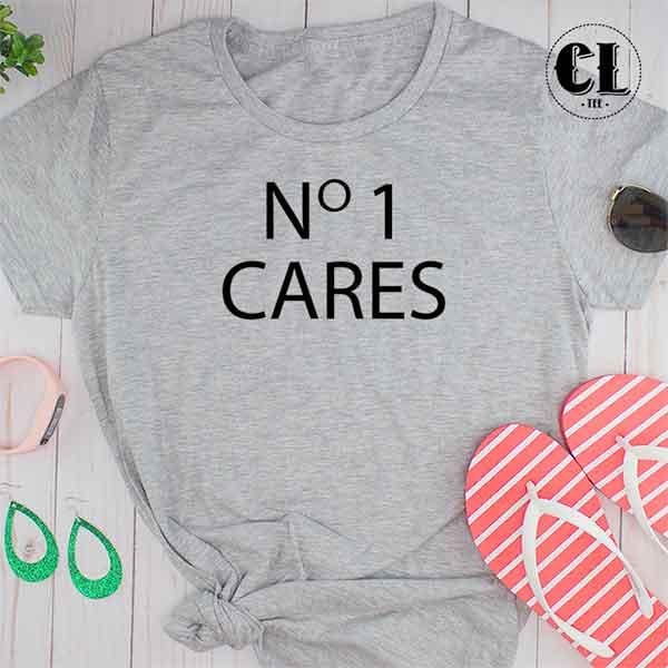 T-Shirt No 1 Cares