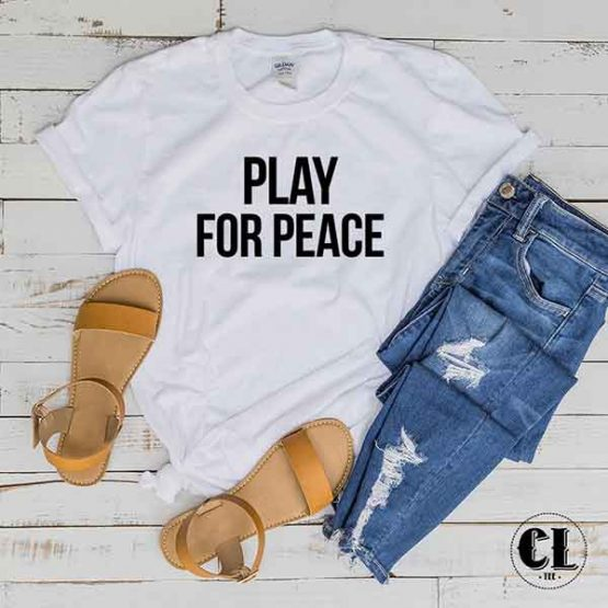 T-Shirt Play For Peace