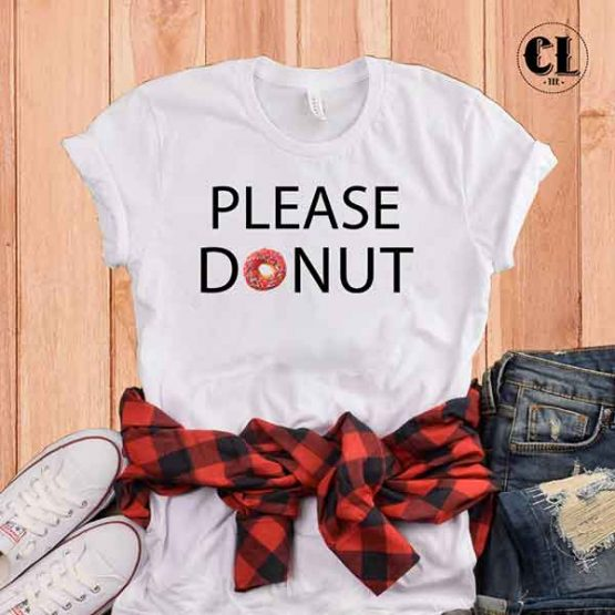 T-Shirt Please Donut