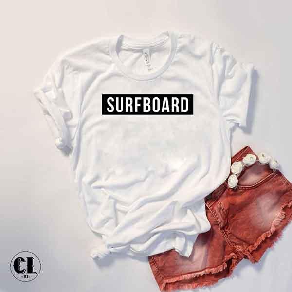 T-Shirt Surfboard