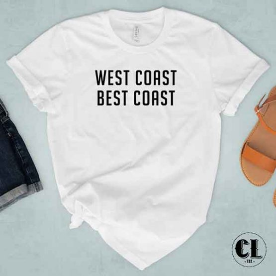 T-Shirt West Cost Best Coast