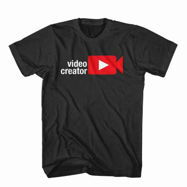 T-Shirt Video Creator, Youtuber T-Shirt