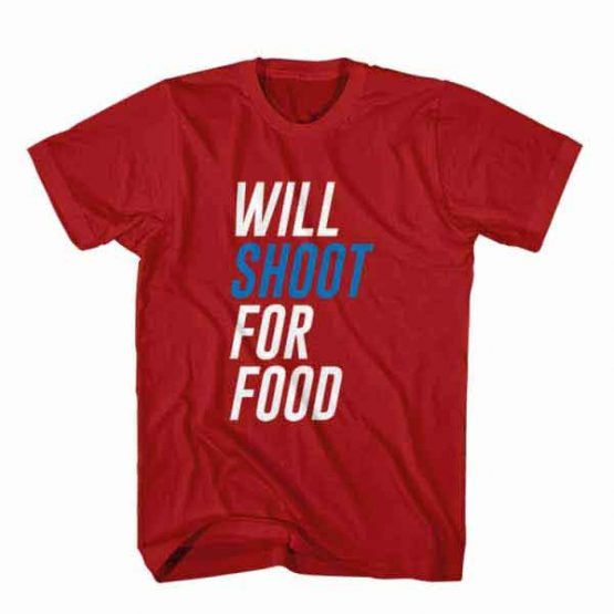 T-Shirt Will Shoot For Food