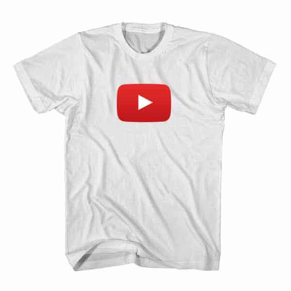 t shirt youtube icon youtuber t shirt tumblr aesthetic clothing t shirts store. Black Bedroom Furniture Sets. Home Design Ideas