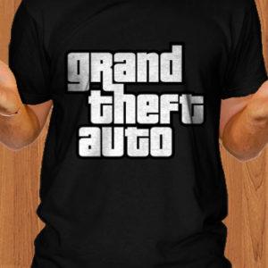 GTA T-Shirt Grand Theft Auto T-Shirt