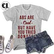 T-Shirt Abs Are Cool