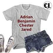 T-Shirt Adrian Benjamin Chester Jared