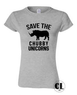 Save Chubby Unicorns T-Shirt