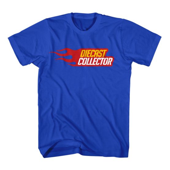 Diecast Collector T-Shirt Blue
