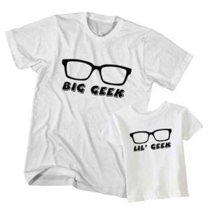 Big Geek Little Geek t-shirt