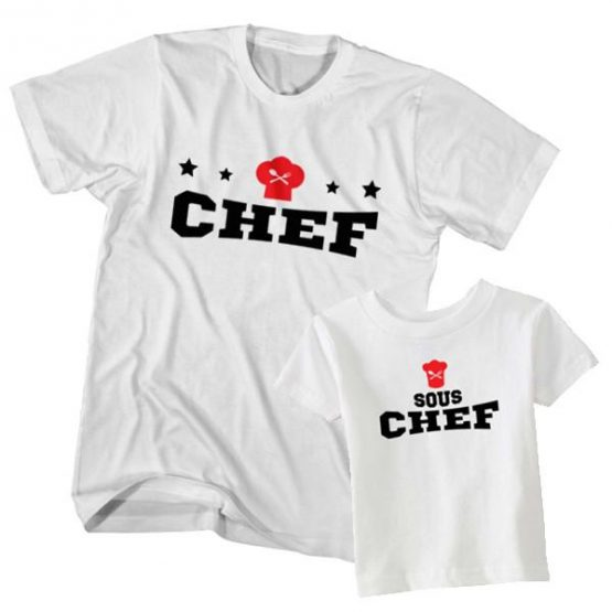 Chef and Sous Chef t-shirt