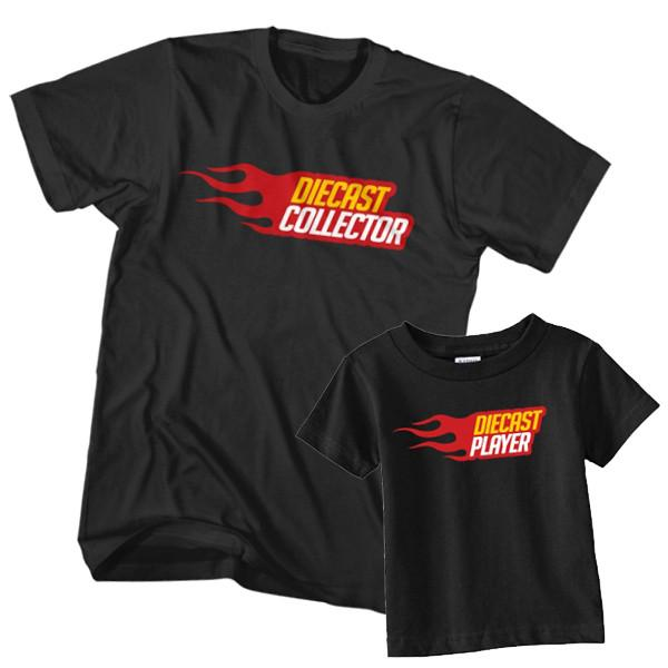Dad and Son T-Shirt Diecast Collector Diecast Player