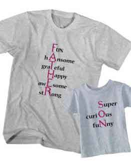 Dad and Son T-Shirt Father Son Meaning