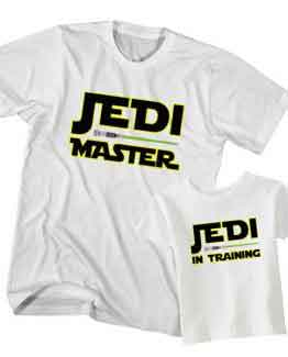 Jedi Master Jedi in Training t-shirt