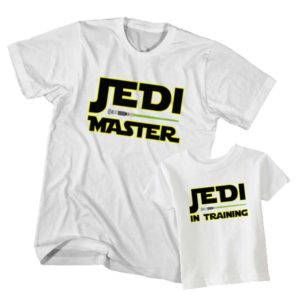 Jedi Master Jedi in Training t-shirt