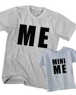 me and mini me t-shirt