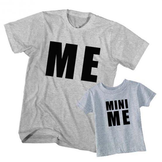 me and mini me t-shirt