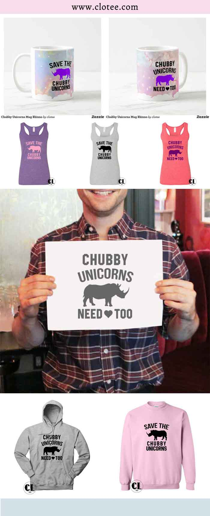 pinterest chubby unicorns