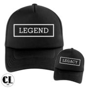 Dad and Son Legend and Legacy T-Shirt