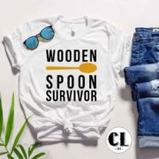 T-Shirt Wooden Spoon Survivor