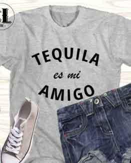 T-Shirt Tequila Es Mi Amigo