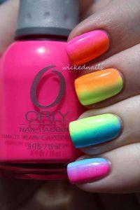 Colorful Summer Nail Arts