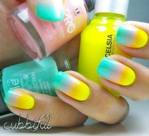 Colorful Summer Nail Design